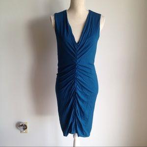 Love Moschino v-neck gathered dress